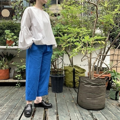 D-due Sketch Collection Blue widepants